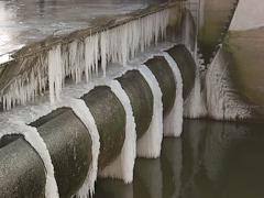 """""""Eiswetter"""" auch am Neckar"""
