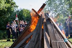 """Fotostrecke: Jugendwehren """"belagern"""" Römerstadion"""