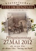 Historisches Fest im Benzpark