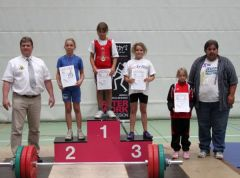 Erfolgreiche Landesmeisterschaft der Gewichtheberjugend