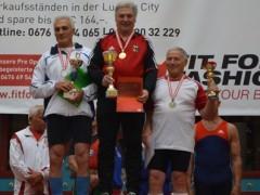 Sieg beim Europa Cup der Masters für Walter Schüssler