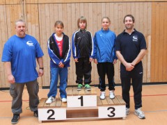 Zwei mal Gold bei den Baden-Württembergischen Meisterschaften