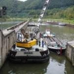 Schleusen und Wehre am Neckar werden 2013 repariert