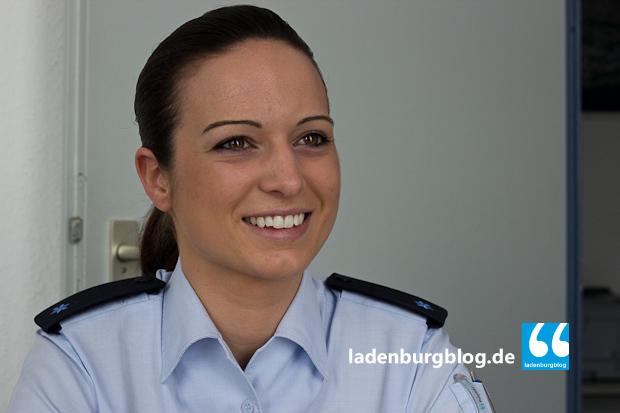 Ich wollte schon immer Polizistin werden. Etwas anderes kam eigentlich nie in Frage.