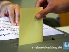 Die Europawahl am 25. Mai