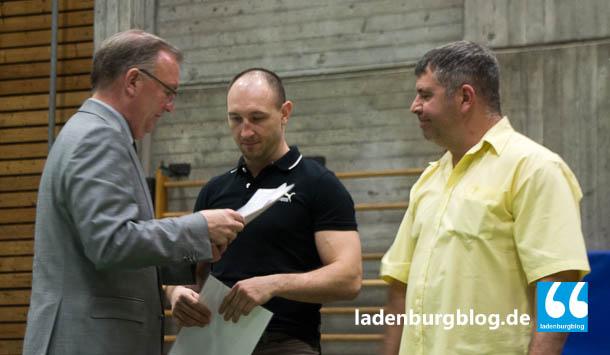 Ladenburg-Sportlerehrung 2014-Lobdengauhalle-Rainer Ziegler-Buergermeister-002-20140404-0207