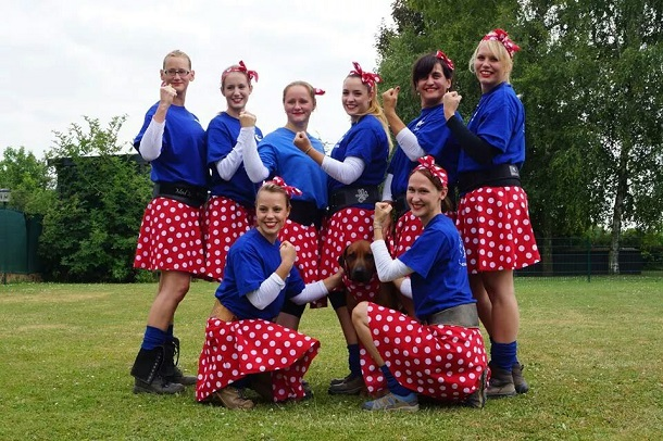 ASV Damen bei der Ladenburger Stadtmeisterschaft