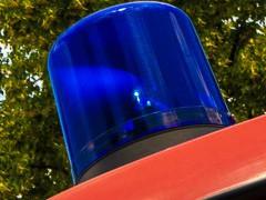 Feuerwehren suchten Person im Neckar